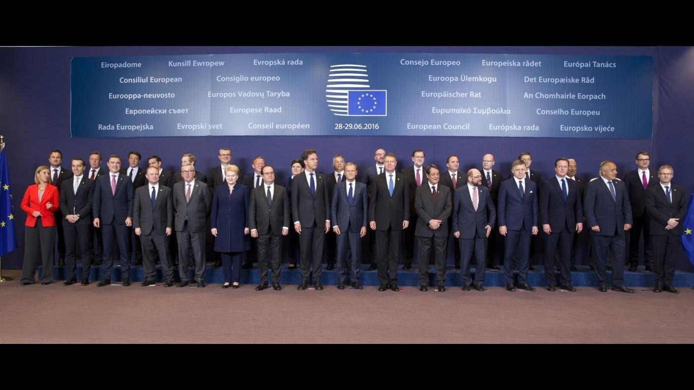 Brexit, Consiglio europeo senza Uk diviso tra cautela e urgenza