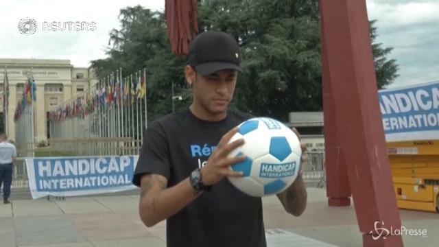 VIDEO Neymar, ambasciatore dei diritti dei disabili