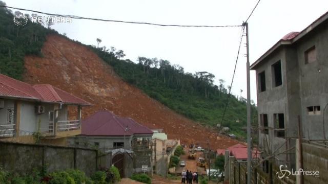 Sierra Leone, si scava ancora alla ricerca dei corpi