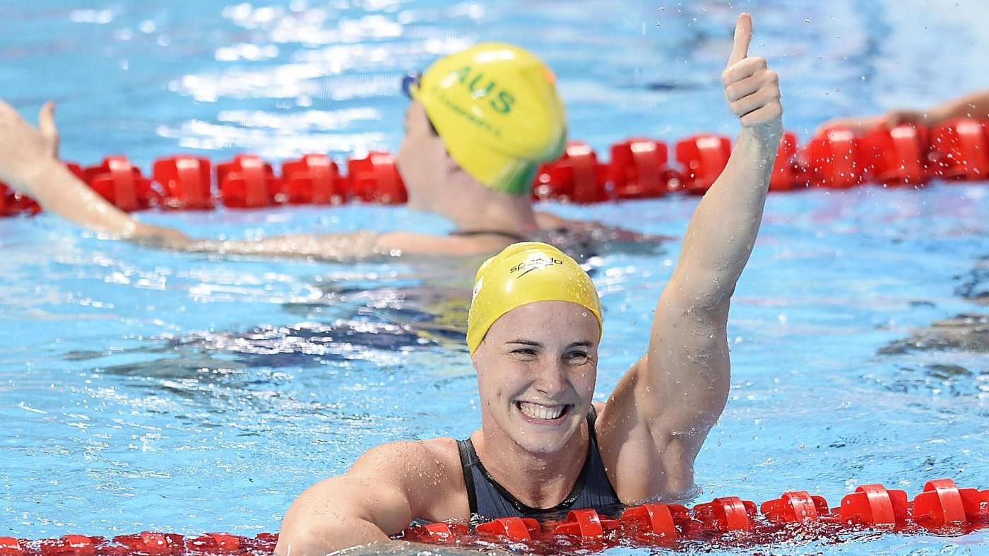 Campbell fissa nuovo record mondiale femminile nei 100 sl