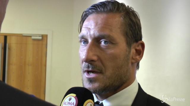 """Totti: """"Sorteggio duro, ma possiamo battere tutti"""""""