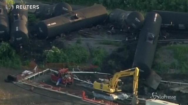 Illinois: treno merci deraglia vicino a Chicago