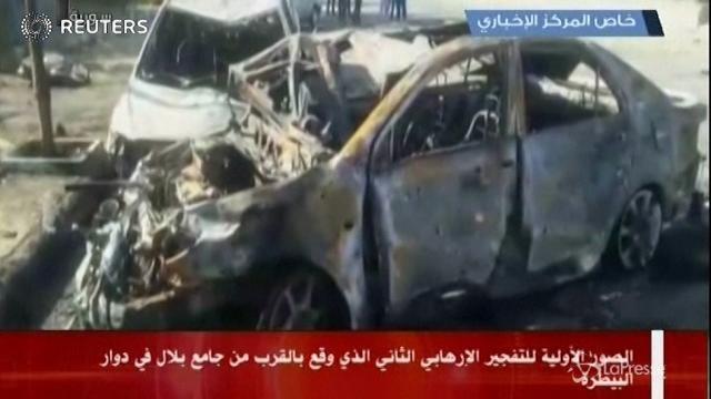 Damasco: autobomba nel centro della città