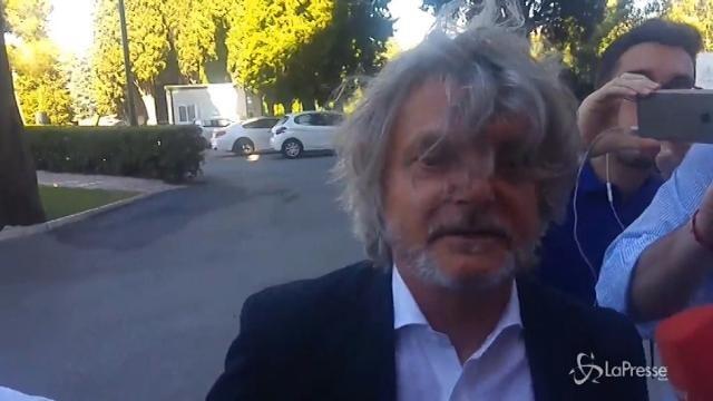 """Il presidente della Sampdoria Ferrero: """"Torrera è incedibile"""""""