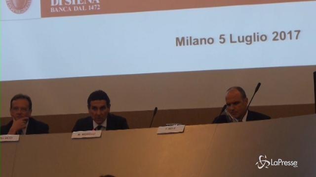 """MPS, Morelli: """"In questi mesi gestita emergenza continua"""""""