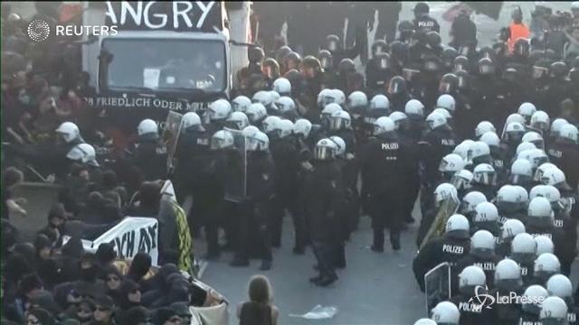 Al via il G20 di Amburgo, tensione alla vigilia