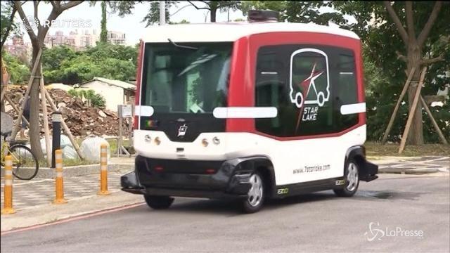 Taiwan, test per il primo bus senza conducente