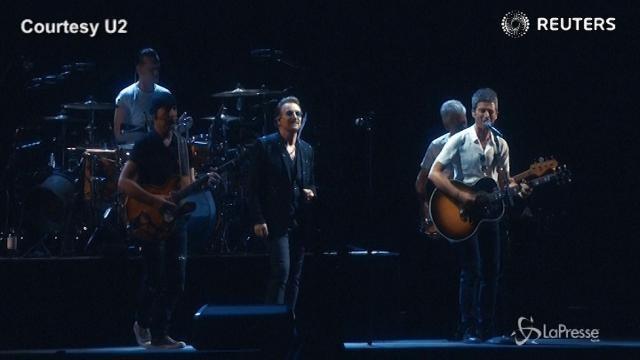 VIDEO U2, a Londra è iniziato il tour europeo di 'Joshua Tree'