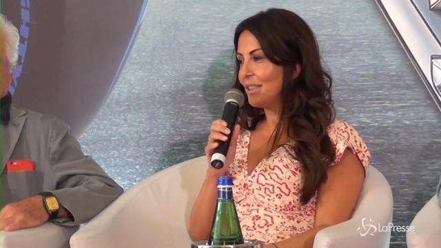 """VIDEO Cars 3, Sabrina Ferilli: """"Che noia le principesse, meglio la mia Sally"""""""