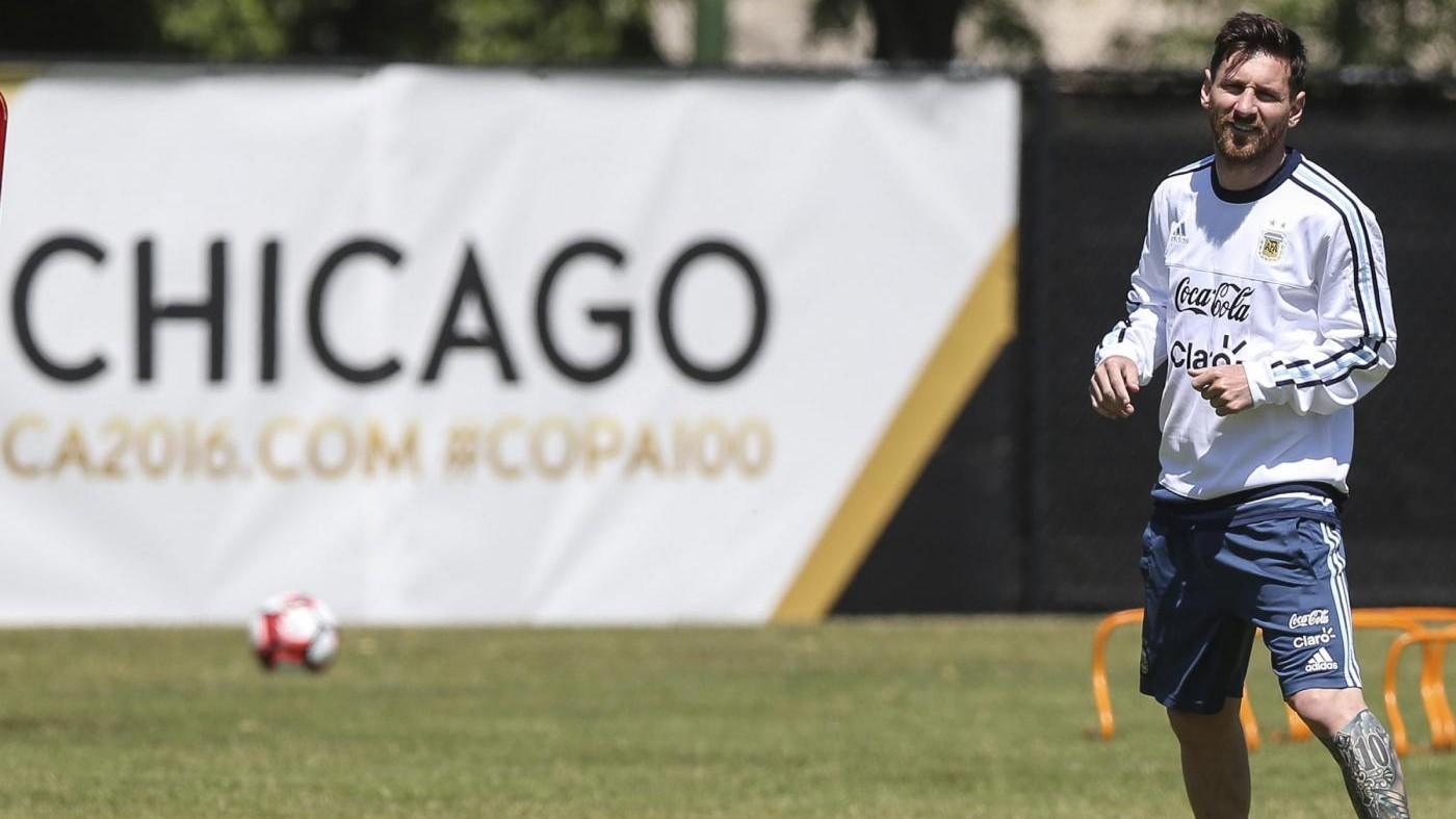 Copa America: Argentina avanti con super Messi, Vidal salva Cile