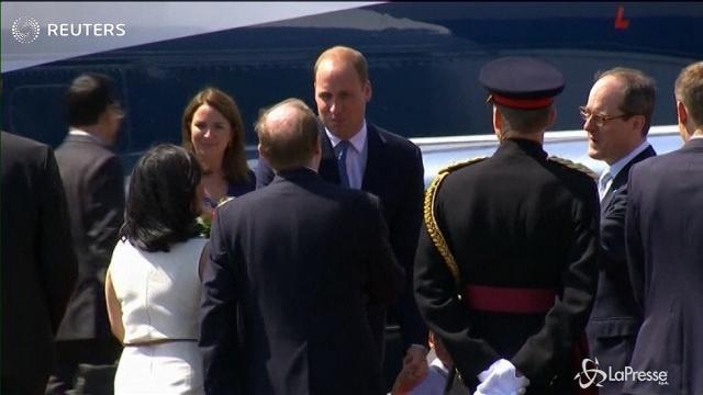 Germania: visita ufficiale del principe William e Kate