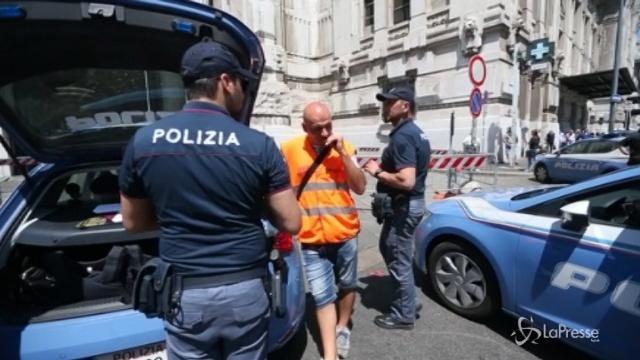 Milano, scarcerato immigrato che ferì poliziotto