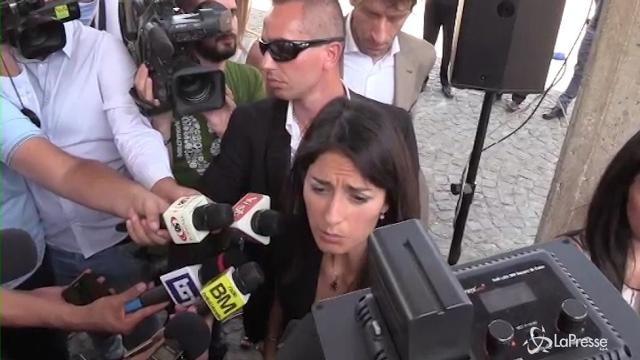 """Mafia Capitale, Raggi: """"L'unica strada è quella della legalità"""""""