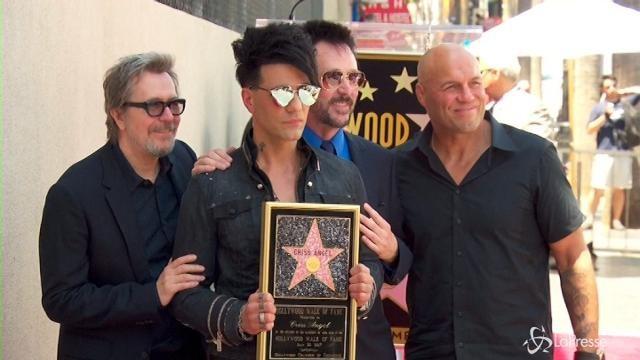 VIDEO Per Criss Angel stella sulla Hollywood Walk of Fame