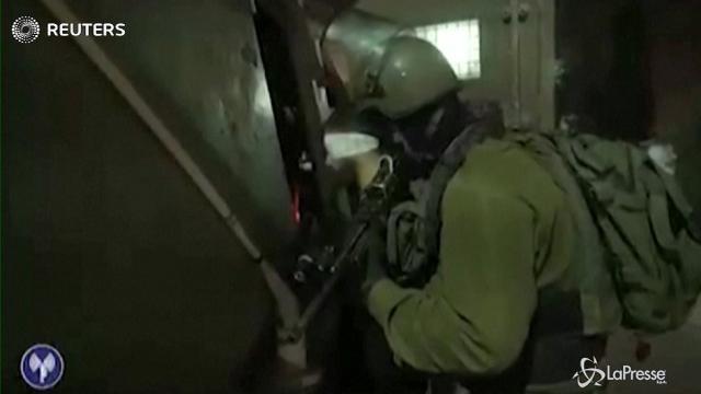 Israele, blitz dell'esercito in Cisgiordania: arrestati 25 membri di Hamas