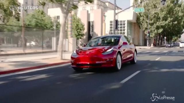 Tesla, presentata ufficialmente la nuova Model 3