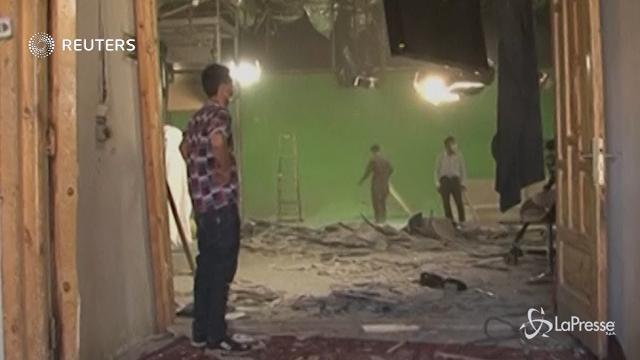 Autobomba Kabul: distrutta sede emittente televisiva