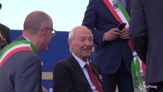 VIDEO Anche Piero Angela alla Festa della Repubblica a Roma