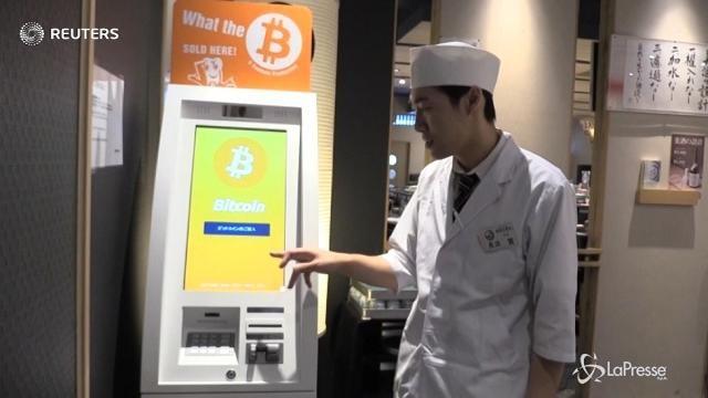 Giappone, nei ristoranti di sushi si paga in Bitcoin
