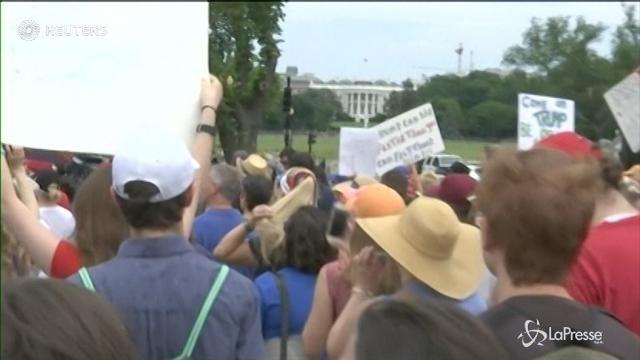 Usa, a Washington la 'marcia per la verità' anti-Trump