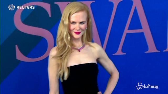 VIDEO Nicole Kidman e Heidi Klum agli 'Oscar della moda'