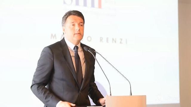 """Renzi: """"Eventi terroristici causano nelle città colpite un calo molto pronunciato"""""""