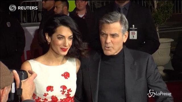 George Clooney è diventato papà di due gemellini