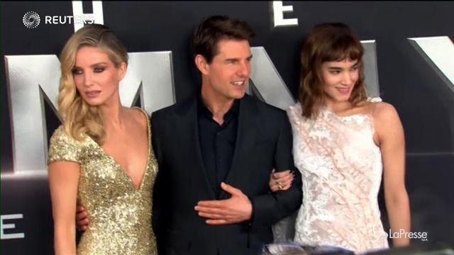 """VIDEO Cinema: Tom Cruise alla prima del film """"La Mummia"""""""