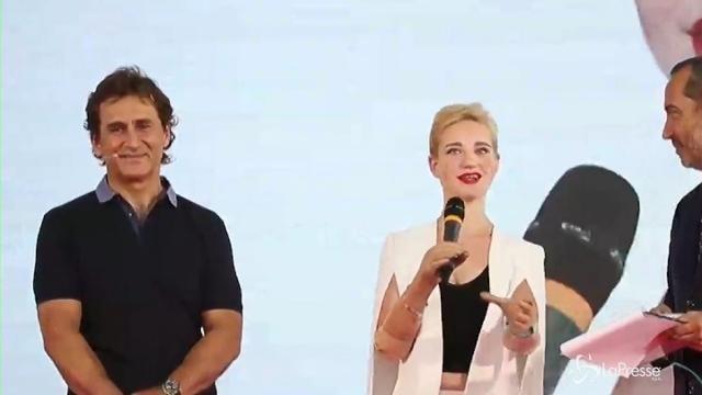 VIDEO Bebe Vio a Zanardi: Gli idoli servono per mettersi in gioco