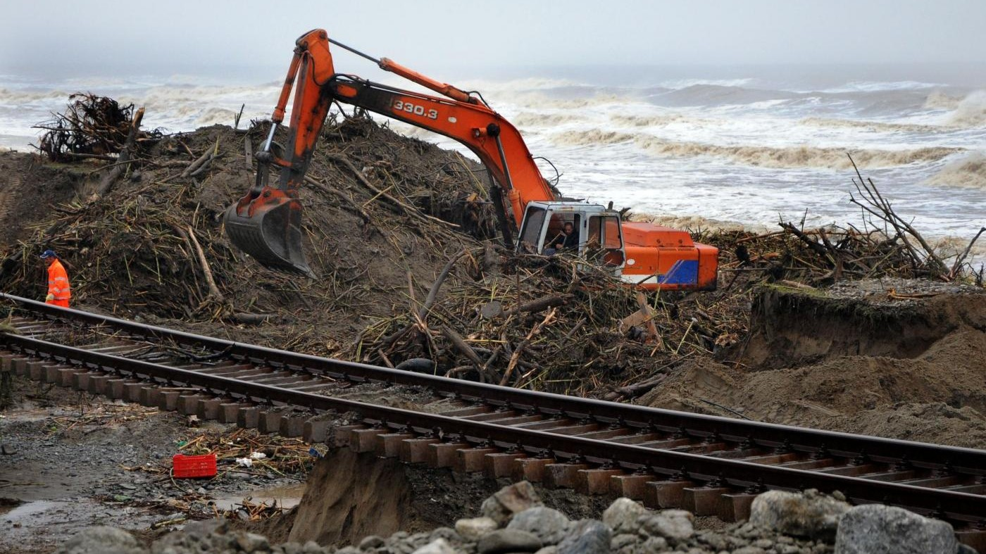 Allarme idrogeologico: 7 milioni a rischio frane e alluvioni