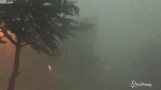Usa, piogge torrenziali in Minnesota