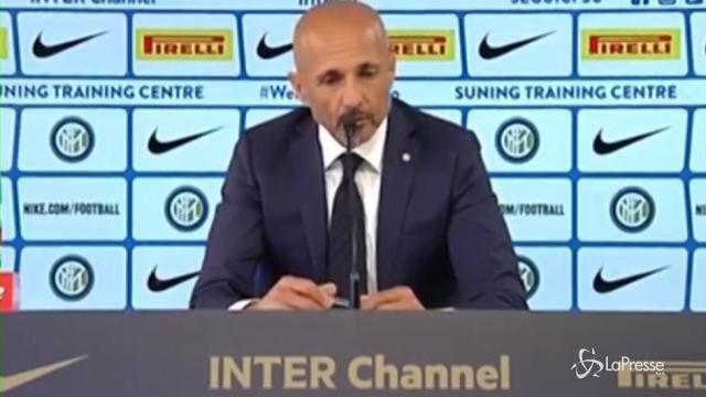 VIDEO Inter, Spalletti: Non sono più bravo degli altri sono differente