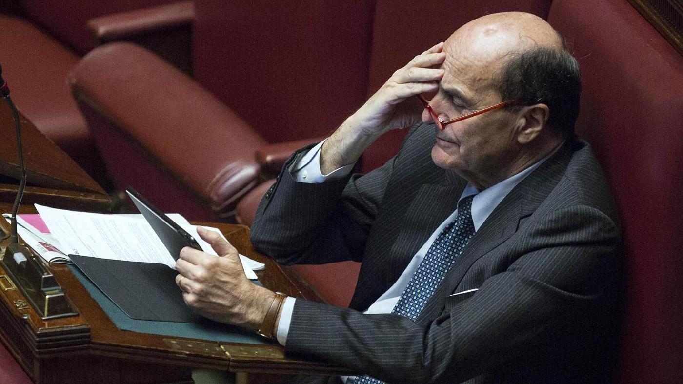 Bersani: Referendum? Se Renzi perde deve restare
