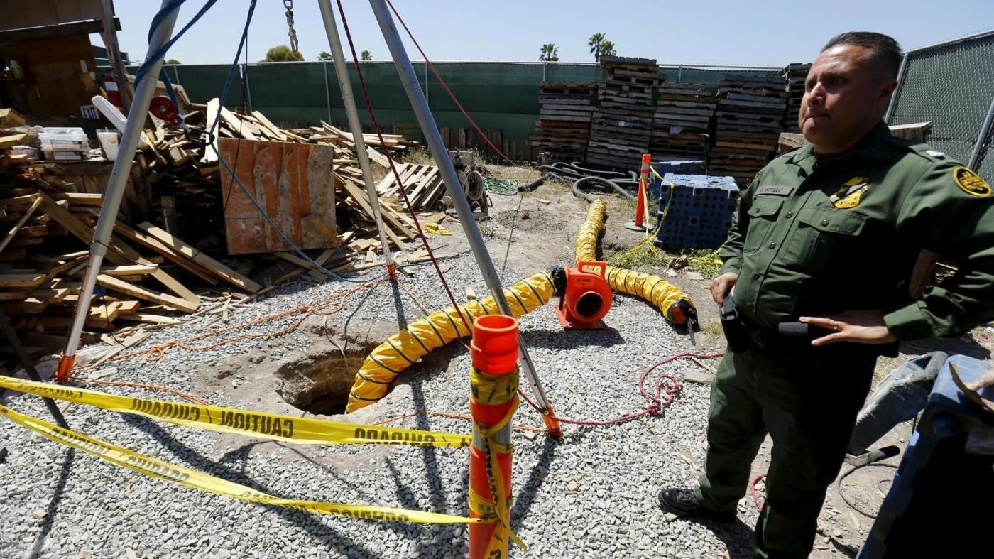 Scoperto tra Usa e Messico tunnel della droga più lungo di sempre