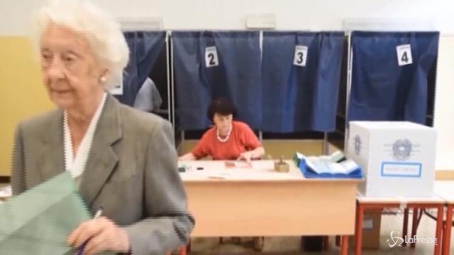 Ballottaggio amministrative: si vota fino alle 23