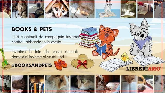 Libri e animali protagonisti di un concorso fotografico