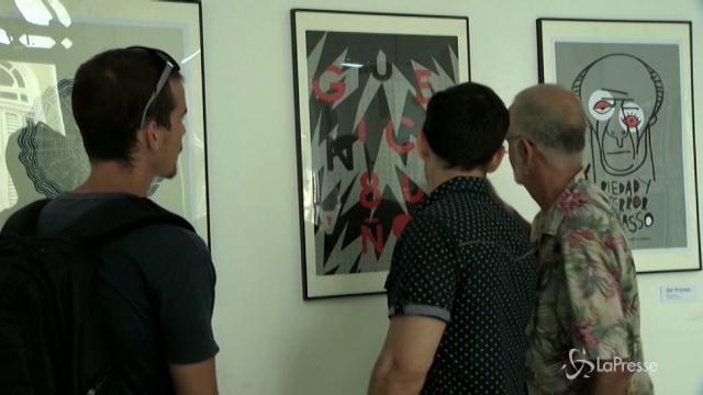 "L'Avana: mostra per 80 anni di ""Guernica"" di Picasso"