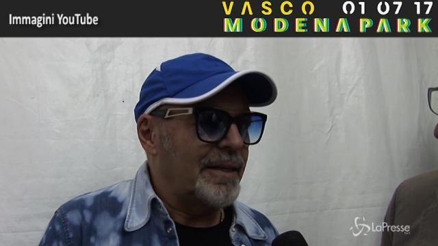 VIDEO Modena Park, Vasco Rossi: Il mio pubblico è straordinario