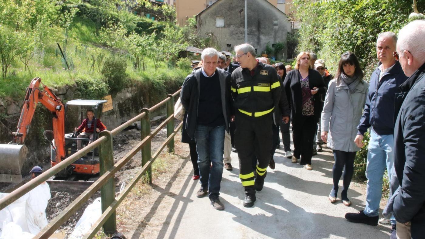 Galletti a Genova: Qui disastro ambientale, chi inquina paga