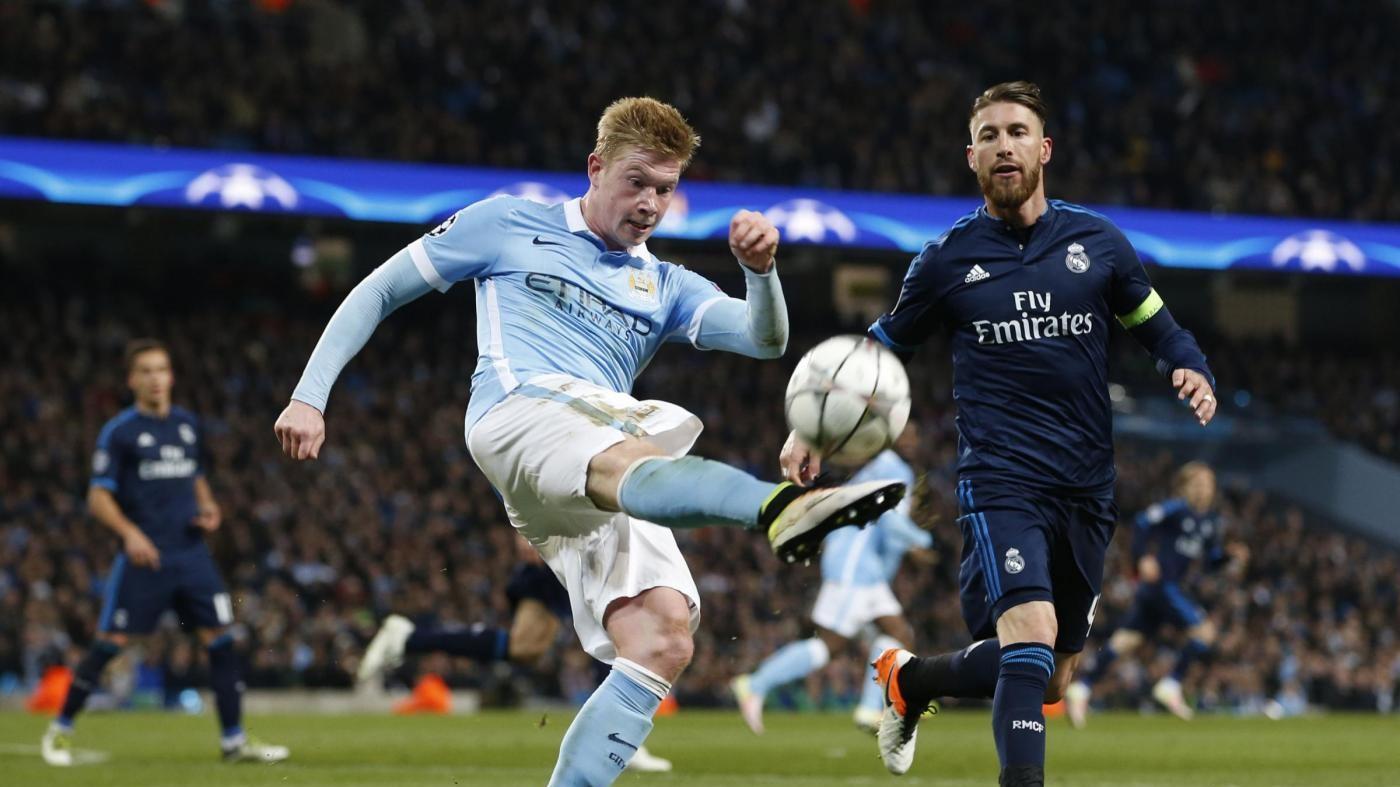 Champions, Ronaldo non c'è e Real non sfonda: 0-0 con il ManCity