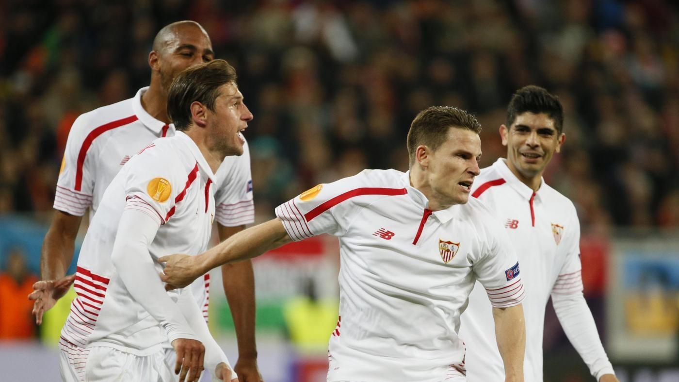 Europa League, Gameiro salva il Siviglia: 2-2 con lo Shakhtar