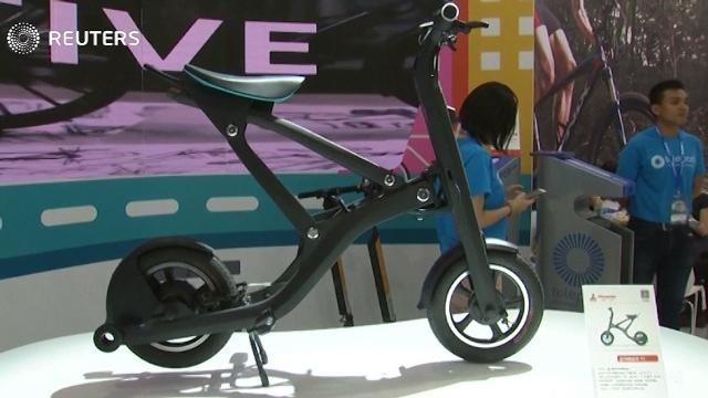 A Shanghai le bici del futuro