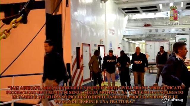 Violenze su migranti: 3 fermati ad Agrigento