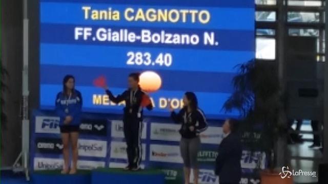L'ultimo tuffo di Tania Cagnotto