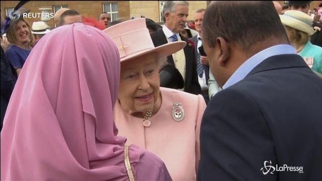 A Buckingham Palace il primo party in giardino della stagione