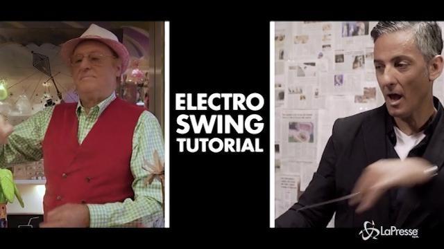 VIDEO Fiorello e Arbore maestri di electro swing in un video tutorial