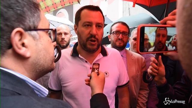 """Salvini: """"Liberiamo L'Aquila poi vinceremo a livello nazionale"""""""