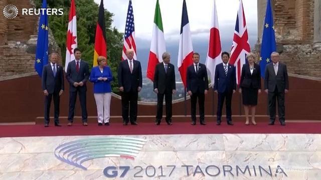 G7: a Taormina partenza in salita