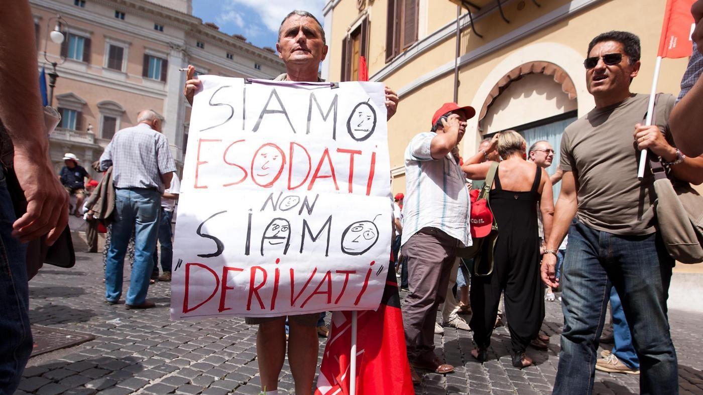 Pensioni, oggi i sindacati in piazza contro la legge Fornero