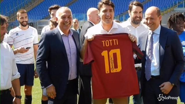 """""""Open Goal"""": Trudeau conteso da Roma e Fiorentina"""